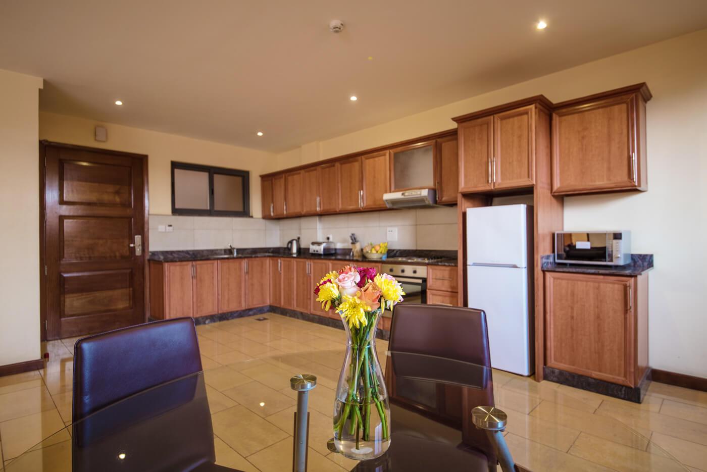 Bukoto Heights Apartments -Kitchen